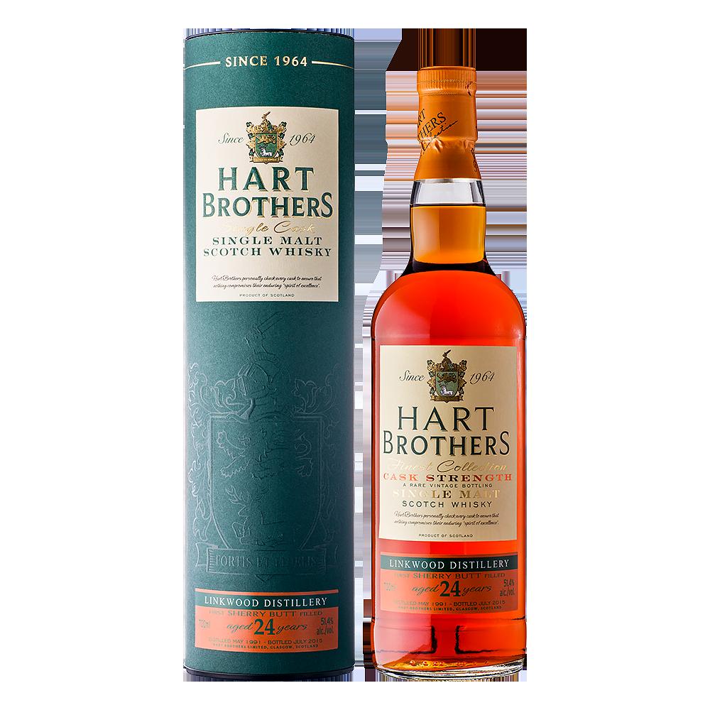 Hart Brothers リンクウッド 24年 シェリーバット