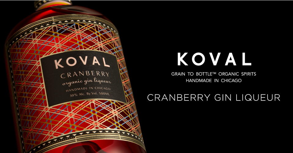 KOVAL から新しい提案です。「CRANBERRY GIN LIQUEUR」